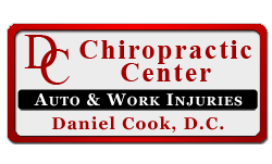 DC Chiropractor logo design in Salem, Oregon