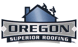 Salem, Oregon roofing company logo design