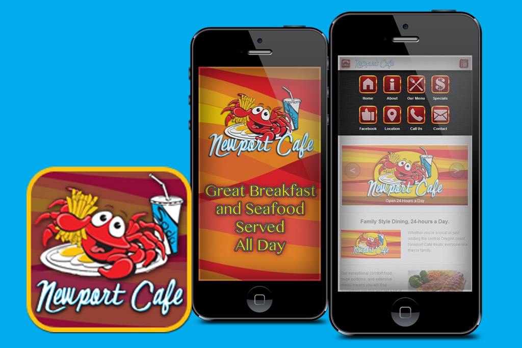Oregon Restaurant App Design