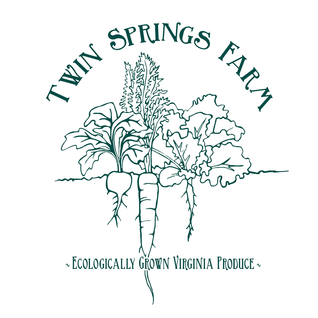Twin Springs Farm Logo Design