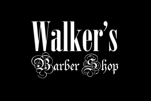 Marketing for a barber shop in Albany, Oregon